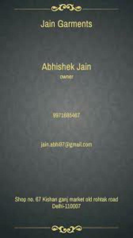Jain garments