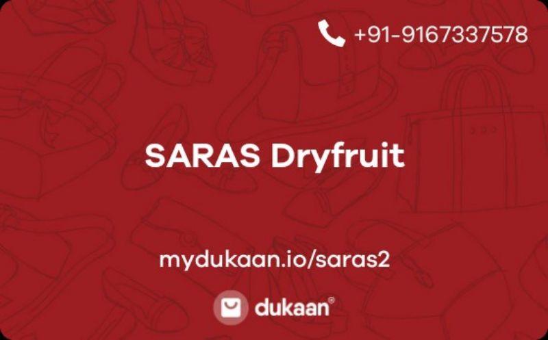 SARAS Dryfruit
