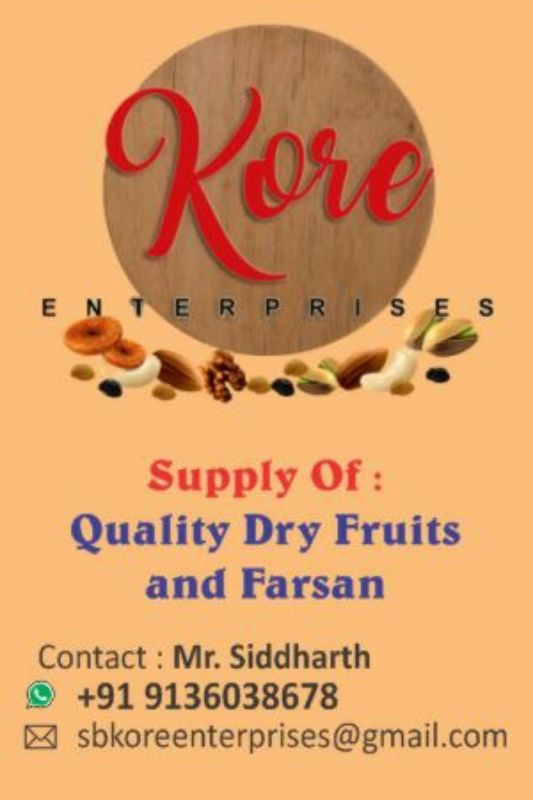 Kore Enterprises( Dry Fruits Supplier)