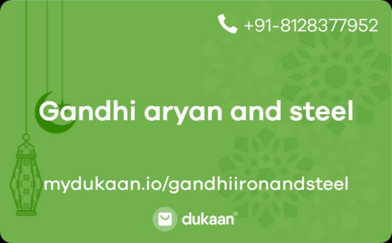 Gandhi aryan and steel
