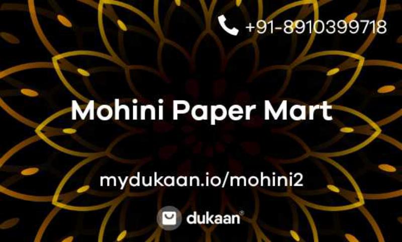 Mohini Paper Mart
