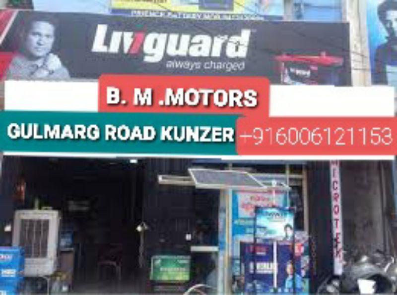 B. M. Motors GULMARG Road Kunzer. Cell Nos +919596146019
