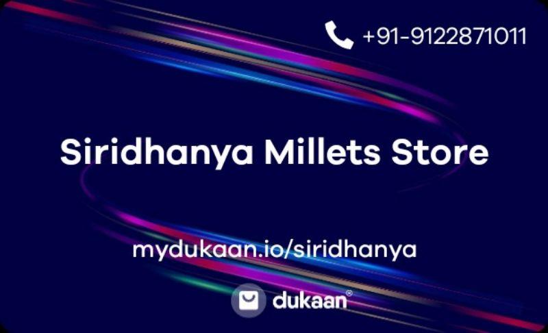 Siridhanya Millets Store