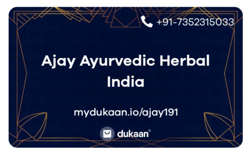 Ajay Ayurvedic Herbal India