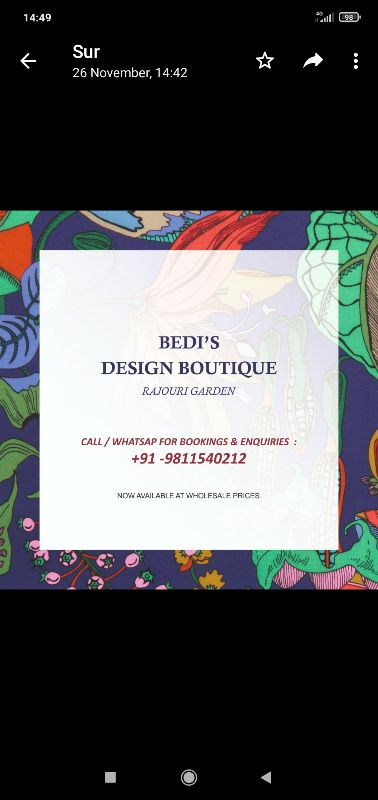 Bedi Design Boutique