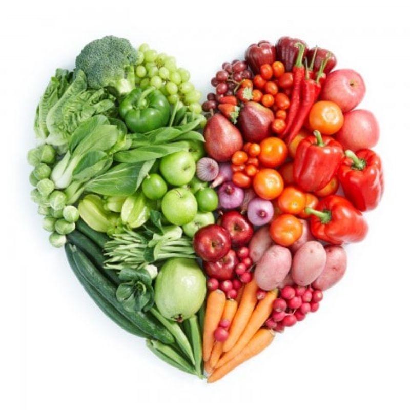 The Farmer . Organic Vegetables