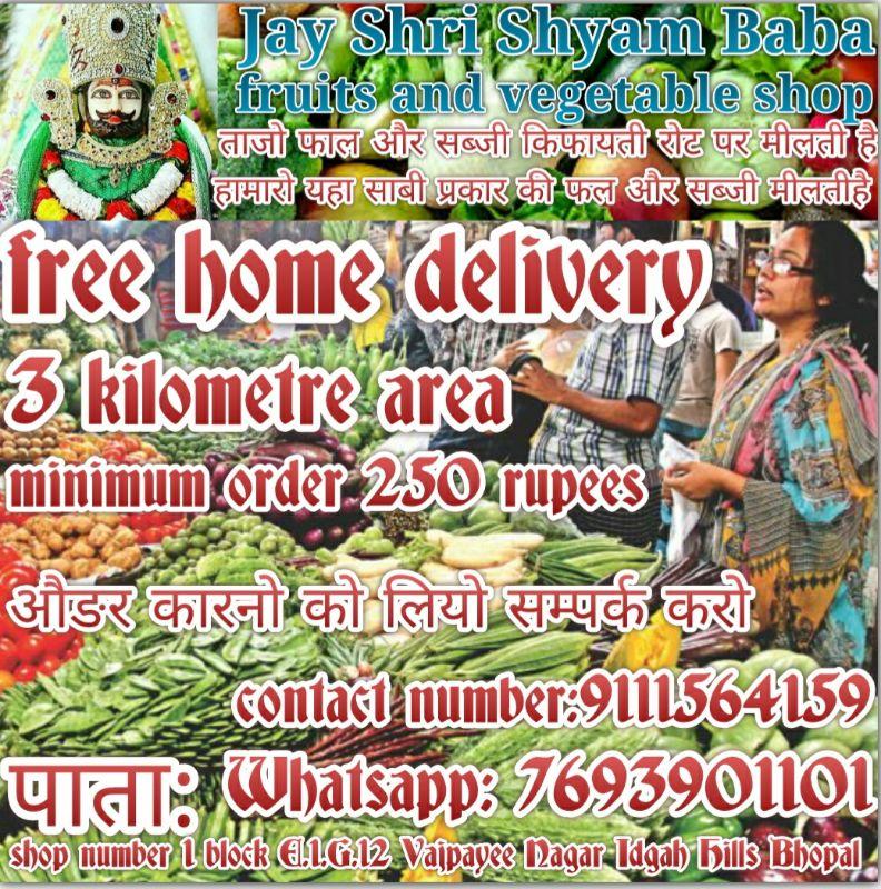 Shri Shyam Baba Fruits And Vegetables Shop
