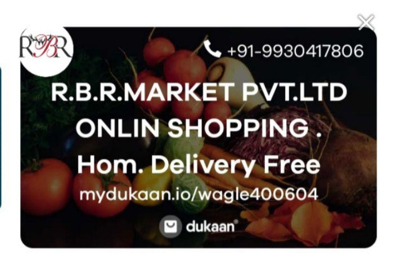 R.B.R.MARKET PVT.LTD  ONLIN SHOPPING . Hom. Delivery Free