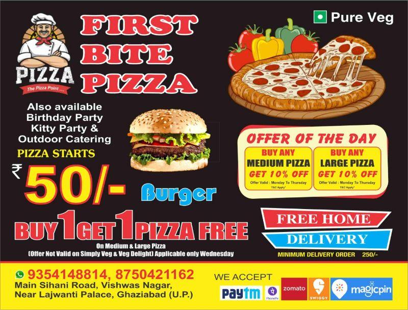 First Bite Pizza