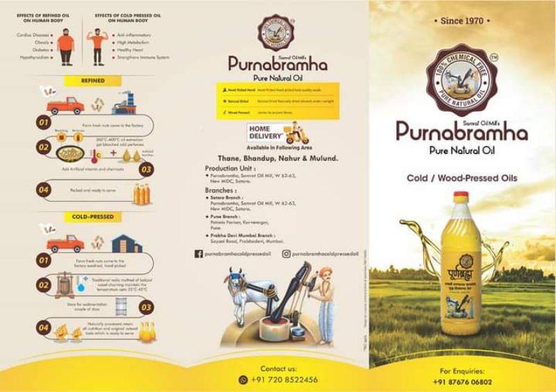 Purnabramha Wood - Cold Pressed Oils