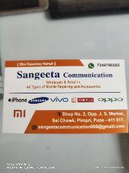 SANGEETA Communication                            Om.Sai.Mobile.Shoppee
