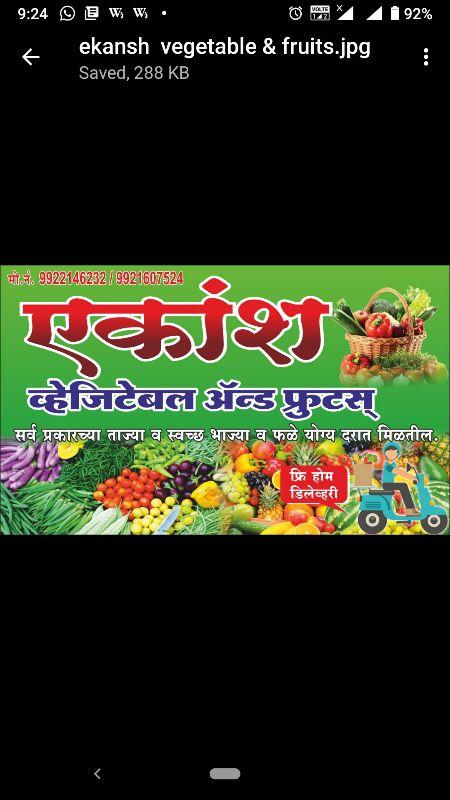 Ekansh Fruits & Vegetables