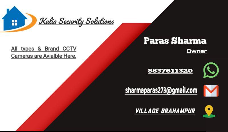 Kalia Security Solution