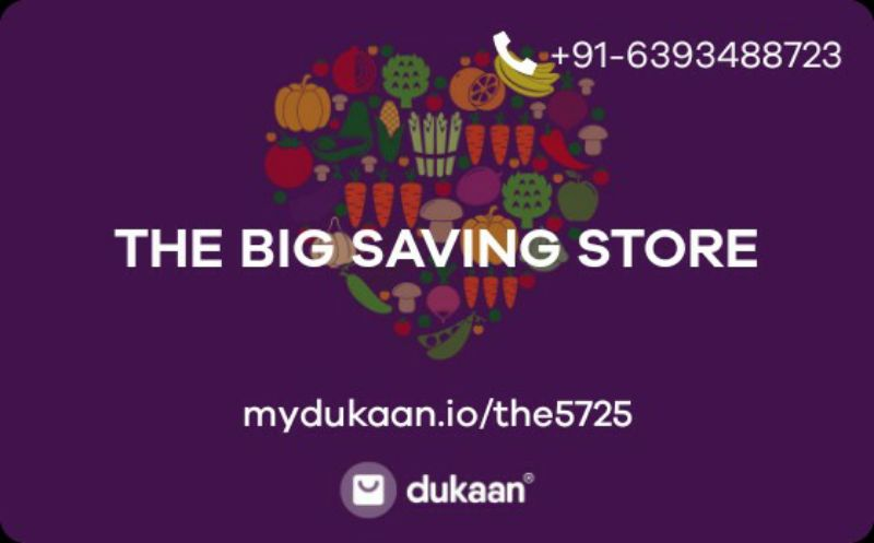 THE BIG SAVING STORE