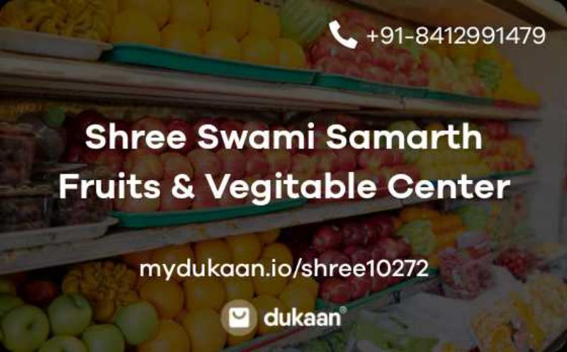Shree Swami Samarth Fruits & Vegitable Center