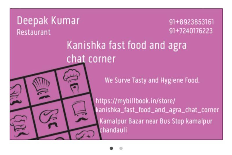 Kanishka Fast Food & Agra Chat Corner