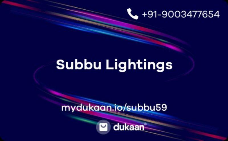 Subbu Lightings