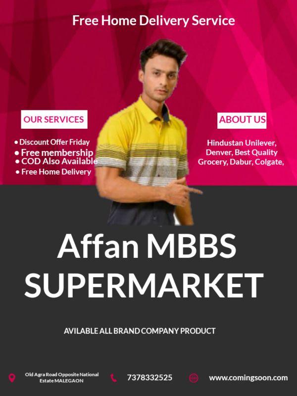 Affan MBBS Supermarket