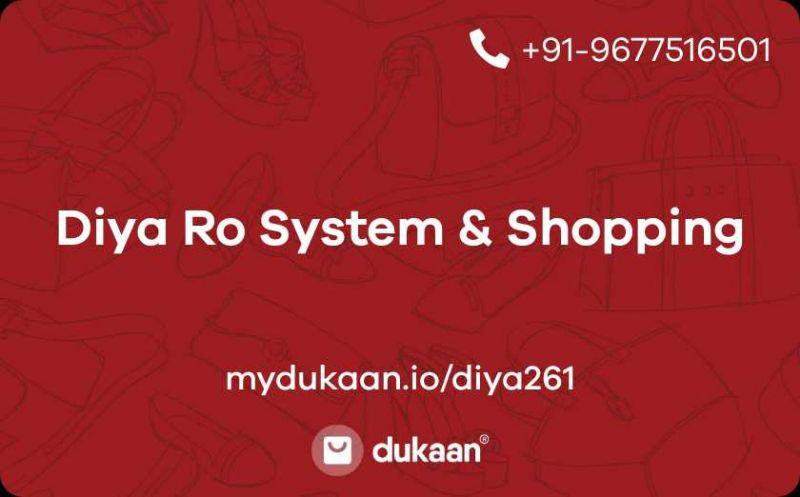 Diya Ro System & Shopping