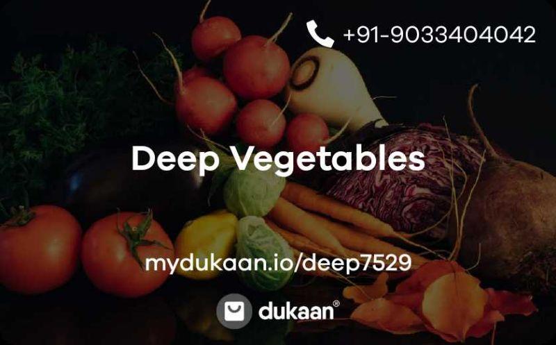 Deep Vegetables
