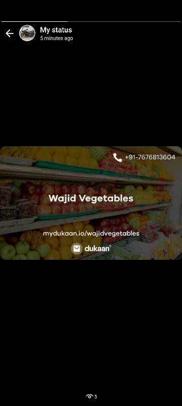 Wajid Vegetables