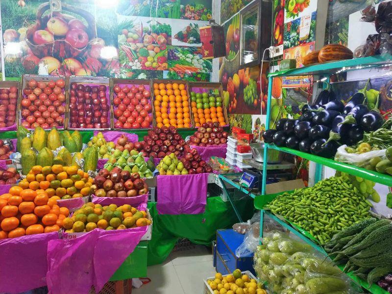 Dinanath's  Fresh Fruits & Vegitables ....
