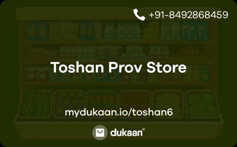 Toshan Prov Store