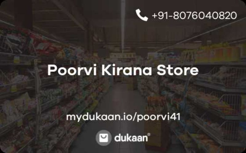 Poorvi Kirana Store