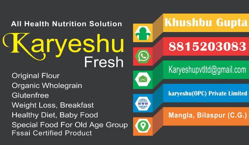 karyeshu Fresh (OPC) Pvt Ltd