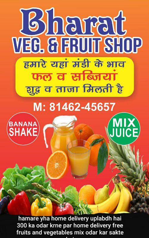 BHARAT VEG AND FRUITS SHOP@