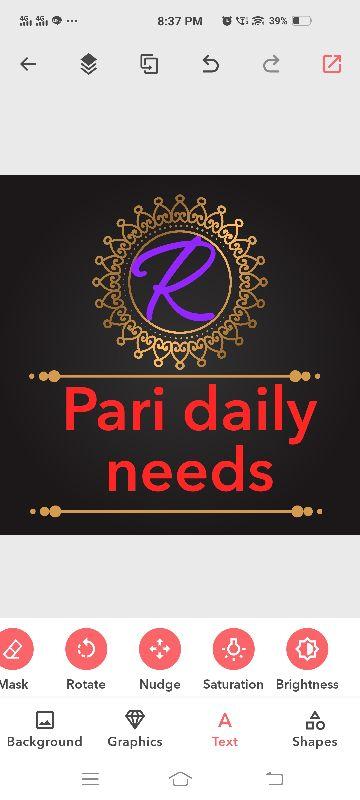 Pari Daily Needs