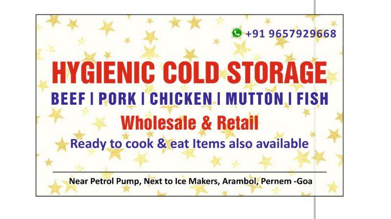 Hygienic Cold Storage