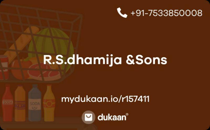 R.S.dhamija &Sons