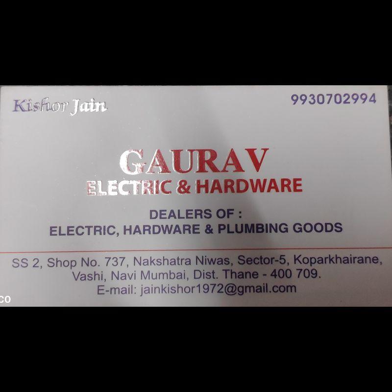 Gaurav Electric Hardware Tools And Plumbing