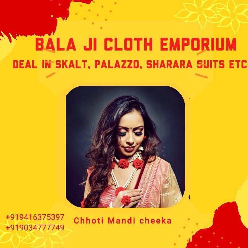 Bala Ji Cloth Emporium