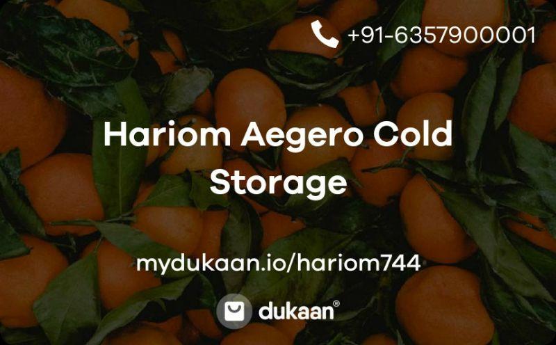 Hariom Aegero Cold Storage