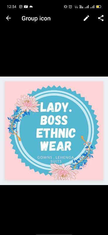 Lady boss ethnic