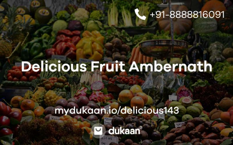 Delicious Fruit Ambernath