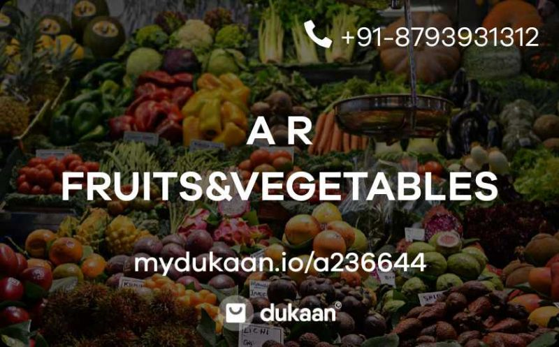 A R FRUITS&VEGETABLES