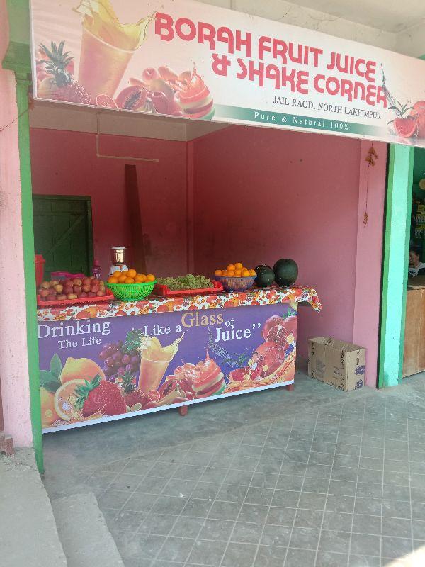 Borah Fruit Juice and Shake Corner