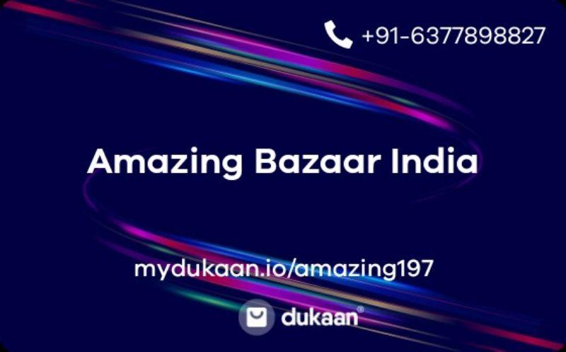 Amazing Bazaar India