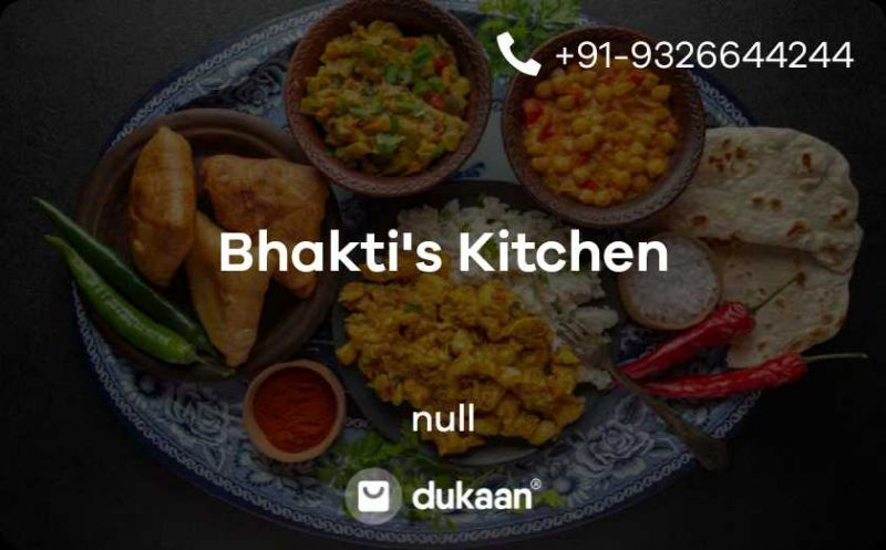Bhakti's Kitchen