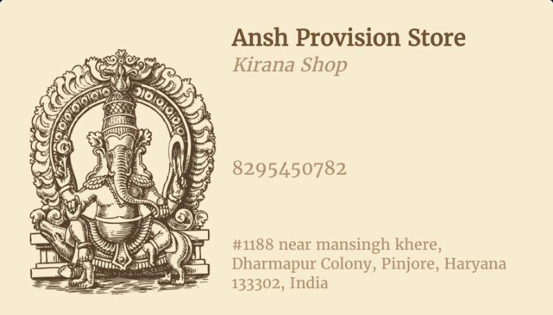Ansh Provisonal Store