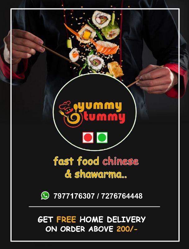 Yummy Tummy Fast Food Chineese &shwarma..
