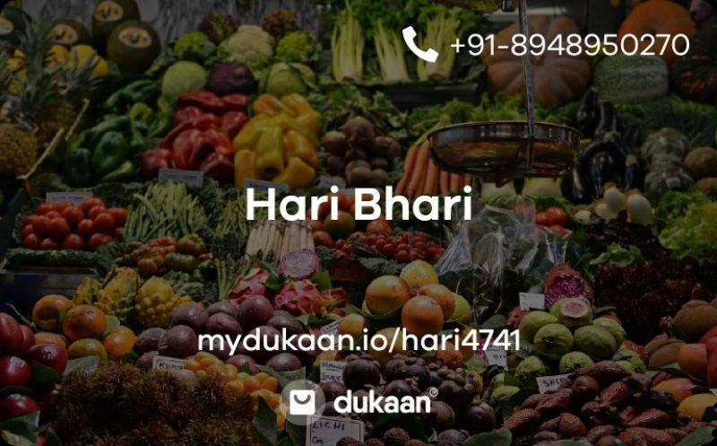 Hari Bhari (Support Your Local Farmers)
