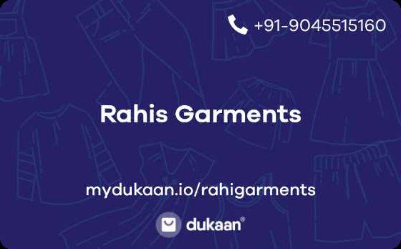 Rahis Garments
