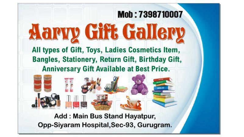 Aarvy Gift Gallery & Stationers