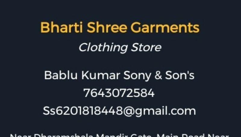 Bharti Shree Garments