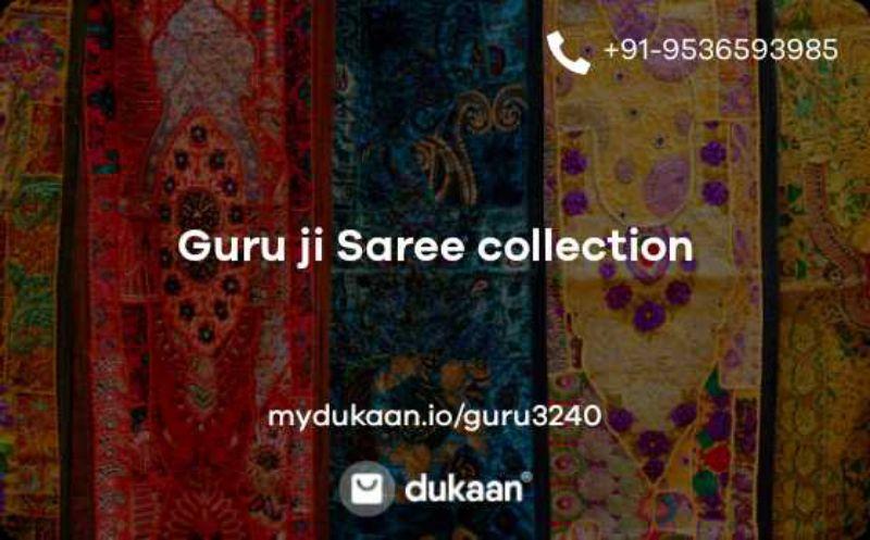 Guru ji Saree collection