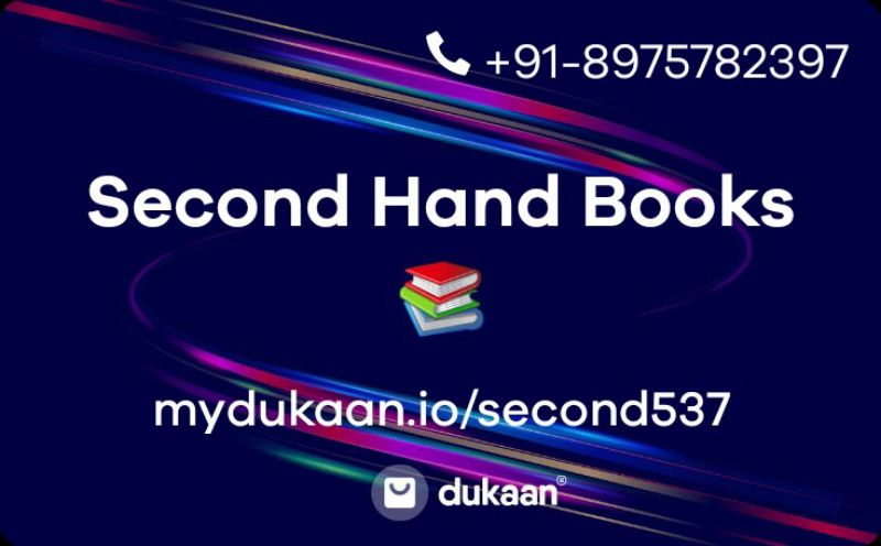 Second Hand Books 📚